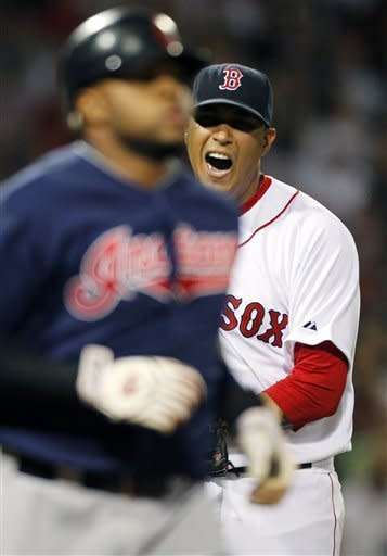 Doubront leads Red Sox to 4-1 win over Indians