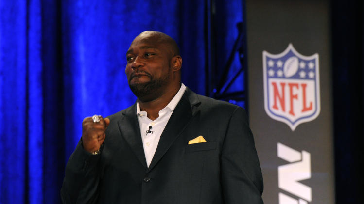 NFL: Super Bowl XLVII-Pro Football Hall of Fame-Press Conference