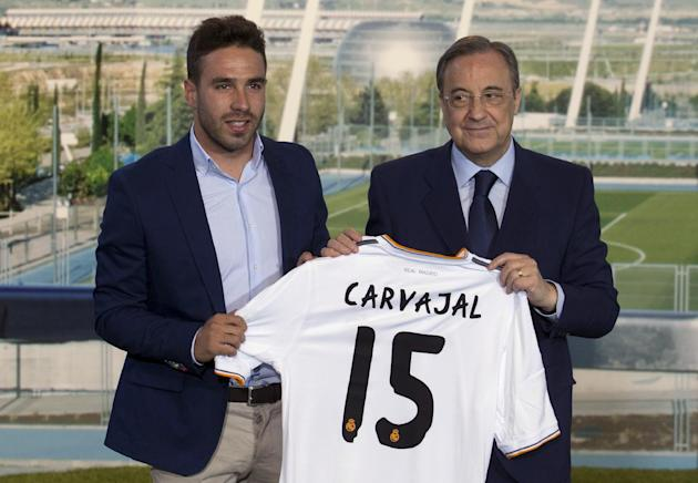 Spain Soccer Real Madrid Carvajal