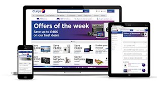 10 Awesome Examples of Ecommerce Sites Using Responsive Web Design image currys rwd