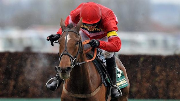 Silviniaco Conti ridden by Jockey Ruby Walsh