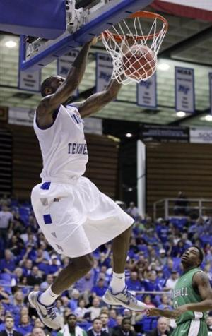 Dendy leads Middle Tennessee past Marshall in NIT