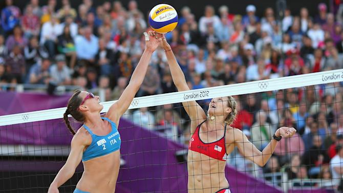 Olympics Day 9 - Beach Volleyball