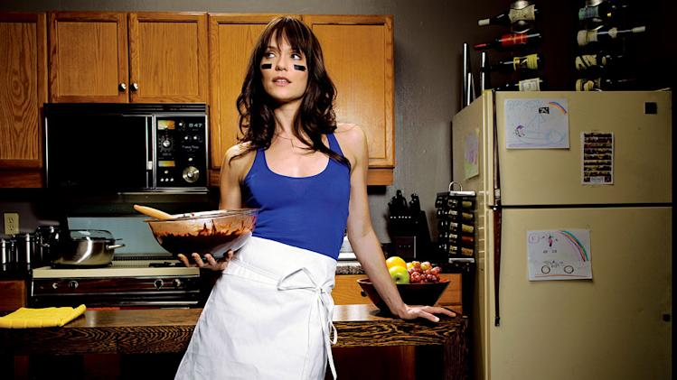 "Katie Aselton stars as Jenny in ""The League."""