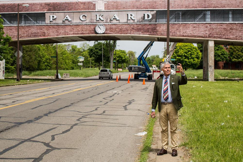 Fake it 'til you make it: Let's Just Pretend the Packard Plant Bridge was Repaired