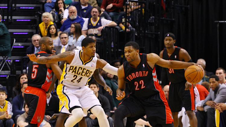 NBA: Toronto Raptors at Indiana Pacers