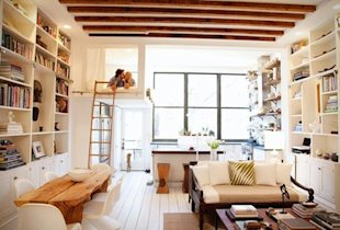 A look inside this fabulous Brooklyn townhouse...