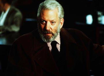 Donald Sutherland in MGM's Six Degrees of Separation