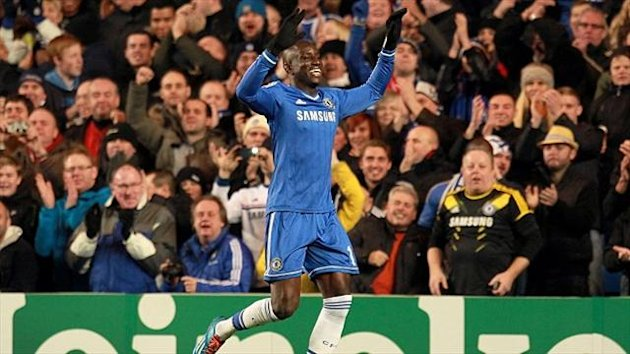 Demba Ba scored the only goal of the game