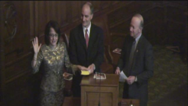 Loretta Rush sworn in as newest justice on Indiana's Supreme Court