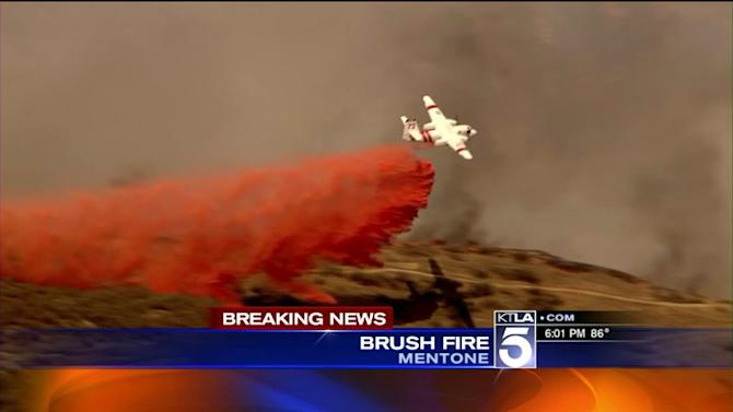 Wildfire Triggers Evacuations in Riverside County