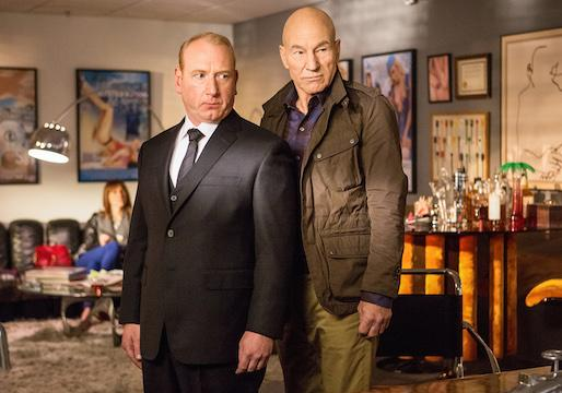 Video: Patrick Stewart Is a Boorish, Boozy Blowhard in Starz's Blunt Talk
