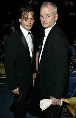 Johnny Depp and Bill Murray Governor's Ball 76th Academy Awards - 2/29/2004