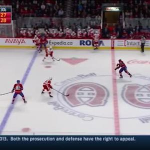 Jimmy Howard Save on P.K. Subban (12:38/3rd)