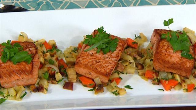 The Dish: Ed Brown's Wild Salmon