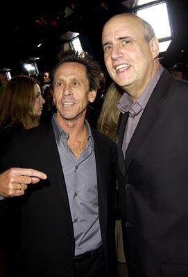 Premiere: Brian Grazer and Jeffrey Tambor at the LA premiere of Universal's Intolerable Cruelty - 10/1/2003