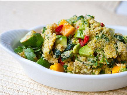 Mango Avocado Superfood Quinoa