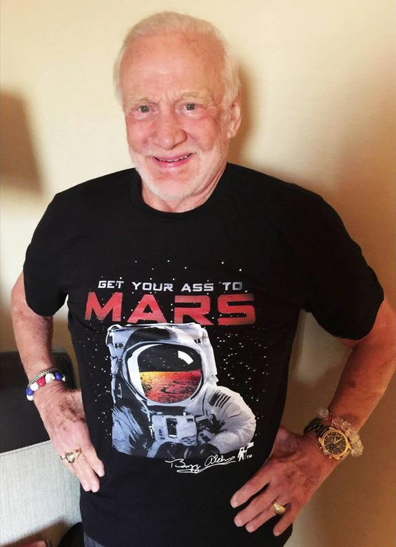 Buzz Aldrin: Apollo 11's 50th Anniversary Should Kick Off Crewed Mars Effort