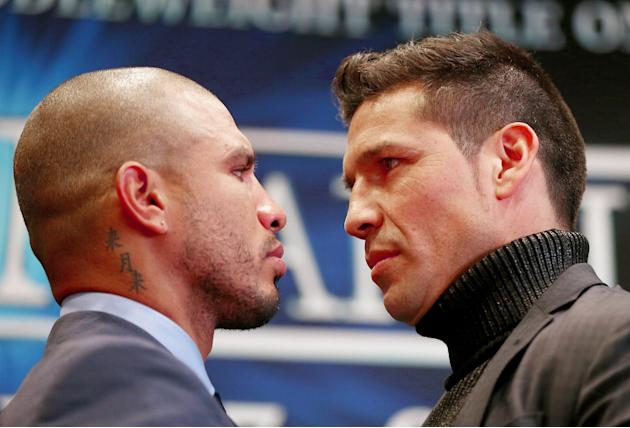 Miguel Cotto and Sergio Martinez - Press Conference