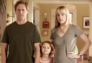 Nat Faxon, Maggie Elizabeth Jones, Dakota Johnson | Photo Credits: Jennifer Clasen/Fox