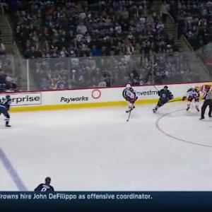 Blue Jackets at Jets / Game Highlights