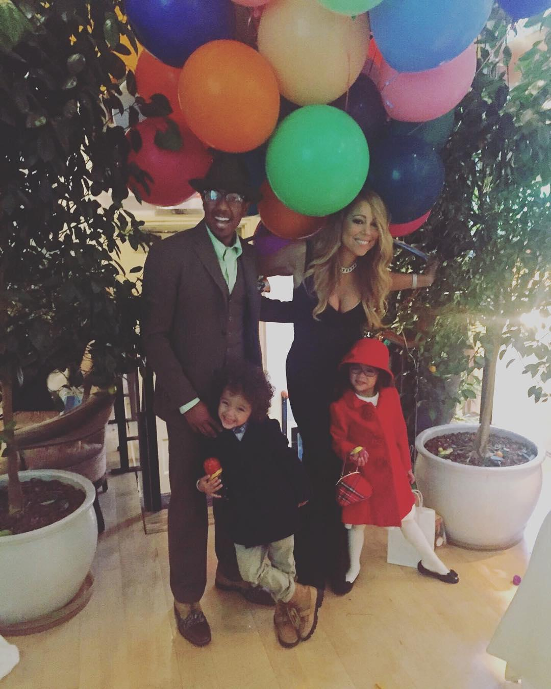 Mariah Carey Spends Thanksgiving With Ex-Husband Nick Cannon