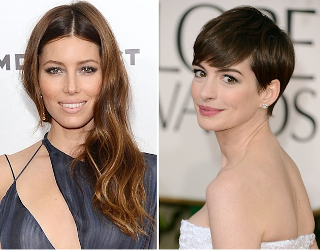 Jessica Biel, Anne Hathaway