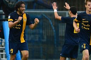 Hellas Verona 2-1 AC Milan: Toni double seals huge shock