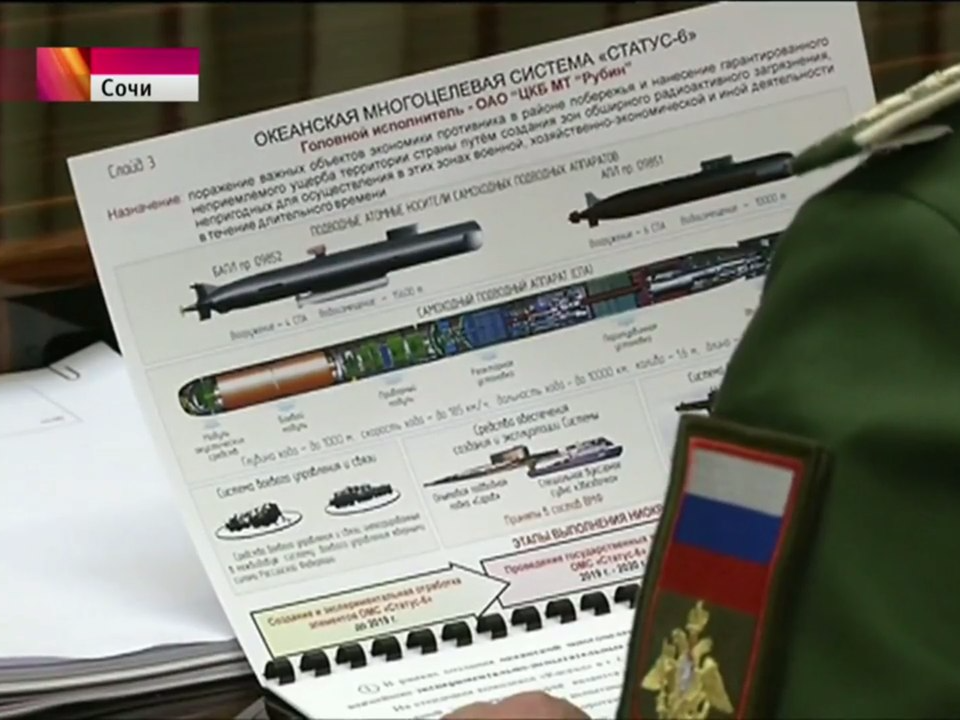 Russia may be planning to develop a nuclear submarine drone aimed at 'inflicting unacceptable damage'