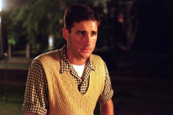 Luke Wilson as Dink Jenkins in Warner Brothers' My Dog Skip (12/99)