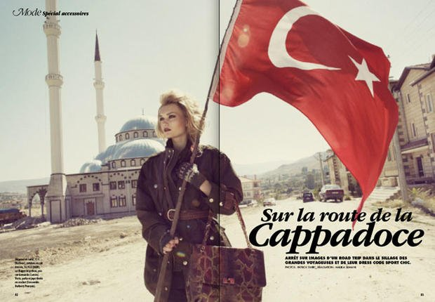 Making-of: La mode sur la route de Cappadoce