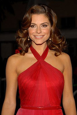 Maria Menounos at the Los Angeles premiere of 20th Century Fox's 27 Dresses