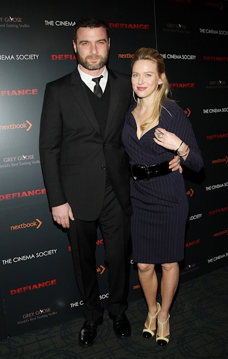 Defiance NY Screening 2009 Liev Schreiber Naomi Watts