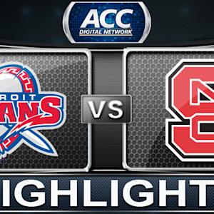 Detroit vs NC State | 2013 ACC Basketball Highlights