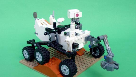 LEGO to Roll Out Mars Rover Curiosity as Toy Model