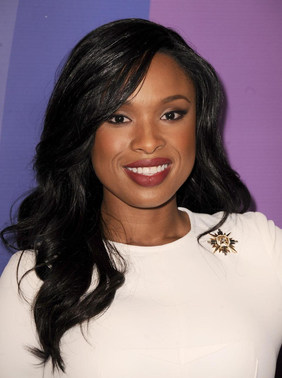 Actress/singer Jennifer Hudson arrives at Variety's 5th Annual Power of Women event at the Beverly Wilshire Hotel on Friday, Oct. 4, 2013, in Beverly Hills, Calif. (Photo by Jordan Strauss/Invision/AP)