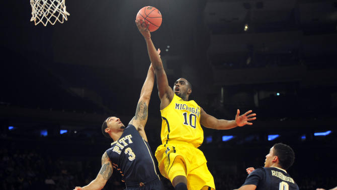 NCAA Basketball: NIT Season Tip-Off-Michigan vs Pittsburgh