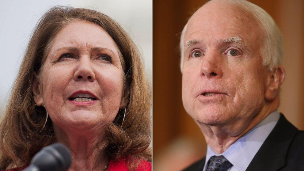 Rep. Ann Kirkpatrick Launches Senate Bid to Unseat John McCain