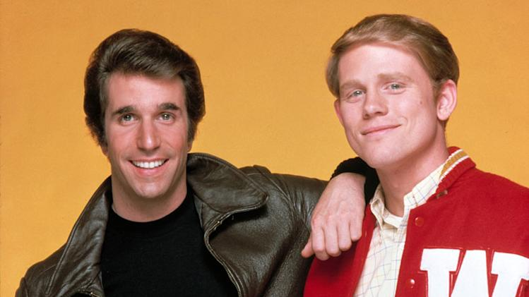 Richie Cunningham and Arthur Fonzarelli (Happy Days)