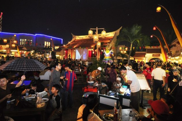 In Gading, Jakarta, a festival of fashion and food