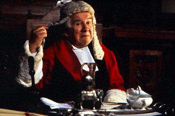 Peter Ustinov as Horace in Stiff Upper Lips