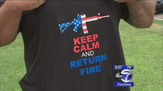 Marine denied entry into Six Flags in NJ because of T-shirt