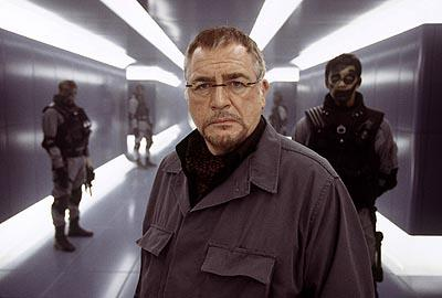 Brian Cox as Stryker in 20th Century Fox's X2: X-Men United