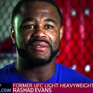 UFC 167: Rashad Evans Pre-Fight Interview
