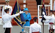 Queen Marks 100 Years At Oz Military College