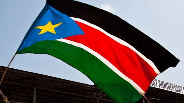 South Sudan's flag
