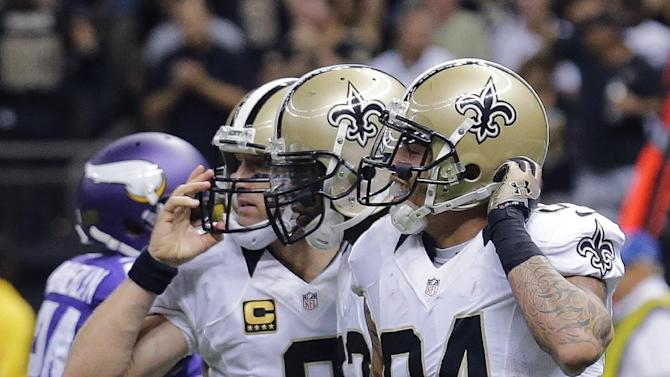 Saints get first win of season, 20-9 over Vikings