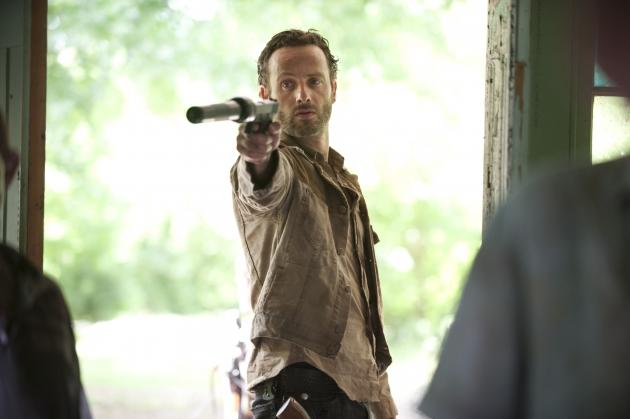 Andrew Lincoln as Rick Grimes in Season 3 of 'The Walking Dead' -- Gene Page/AMC