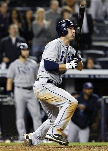Joyce homers off Robertson in 9th, Rays beat Yanks