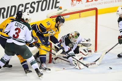NHL scores: Wild top Preds, Kings win streak snapped